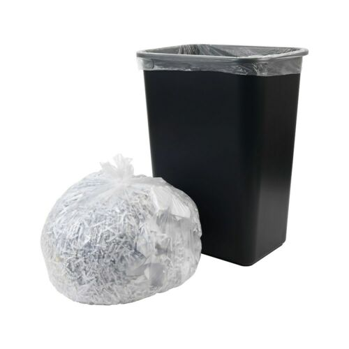 8 Mic Natural 20 rolls//carton Brighton Trash bags 12-16 gal 24x33 High Dens