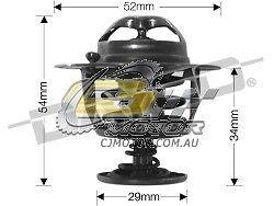 DAYCO Thermostat FOR Honda Civic 00-03 1.5L MPFI VTi D15B Import