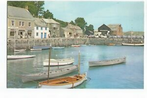 Postcard-The-Harbour-Padstow-Cornwall-UP-A18