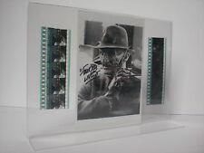 A NIGHTMARE ON ELMSTREET Freddy Krüger Robert Englund Film-Cell-Collage signiert