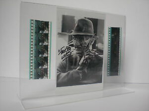 A-NIGHTMARE-ON-ELMSTREET-Freddy-Krueger-Robert-Englund-Film-Cell-Collage-signiert