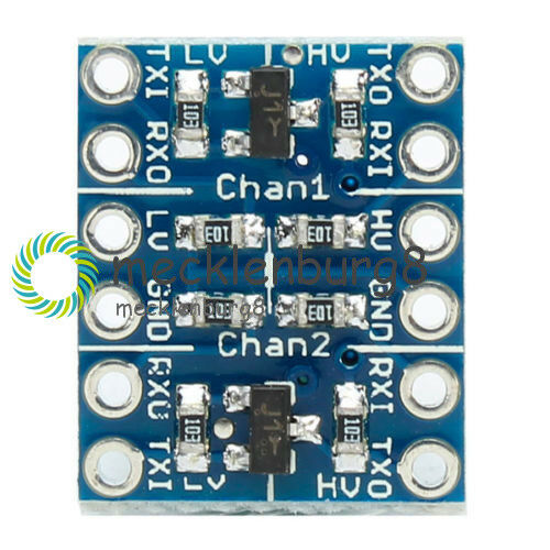 2 Kanal IIC I2C Logic Level Converter Bi-Directional Modul 5V auf 3.3V
