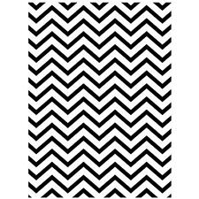 Darice Embossing Folder CHEVRON  Background   A2 1218-68 Card Making
