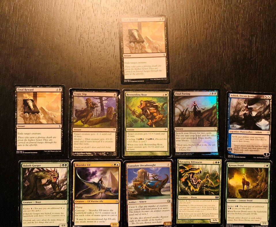 Samlekort, Magic card, magic kort