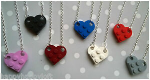 Funky-Lego-Heart-Necklace-Pendant-Kawaii-Cute-Kitsch-Emo-Retro-Christmas-Gift