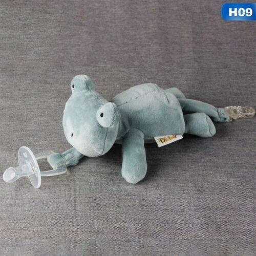 Cute Baby Schnuller Plüschtier Neugeborenen Kinder Jungen Ansprechend flYfE