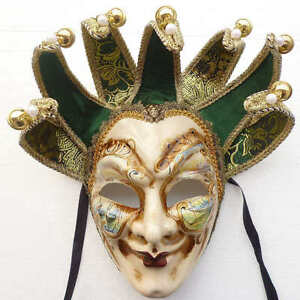 how to make venetian jester mask