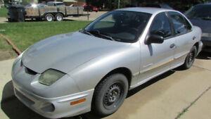 2002 Pontiac Sunfire 136393km $1500