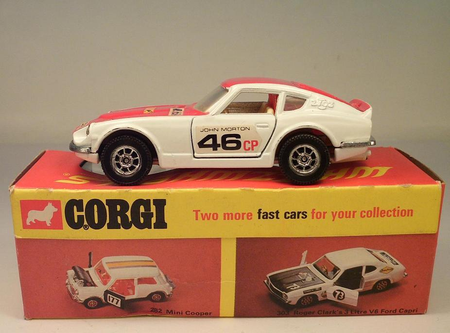 Corgi toys whizzwheels 396 Datsun 240z OVP