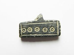 ZURQIEH - ANCIENT EGYPT , BYZANTINE STONE PENDANT, 600 - 800 A.D