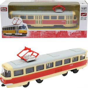 Tatra-T3SU-Tram-sovietique-russe-Diecast-Modele-Echelle-1-87
