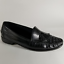 Cole-Haan-Men-039-s-Black-Leather-Kilt-Tassel-Loafers-w-Basketweave-Toes-Size-13M thumbnail 1