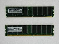 1gb (2x512mb) Memory For Tyan Tomcat I7210 S5112g2nr K8sh S3850g2nr I7210 S5112
