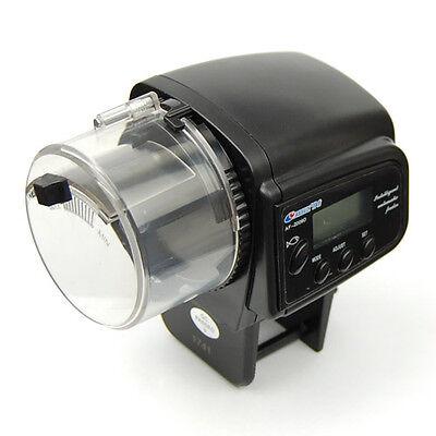 Digital Auto Automatic Tank Aquarium Fish Food Feeding Feeder Timely Dispenser