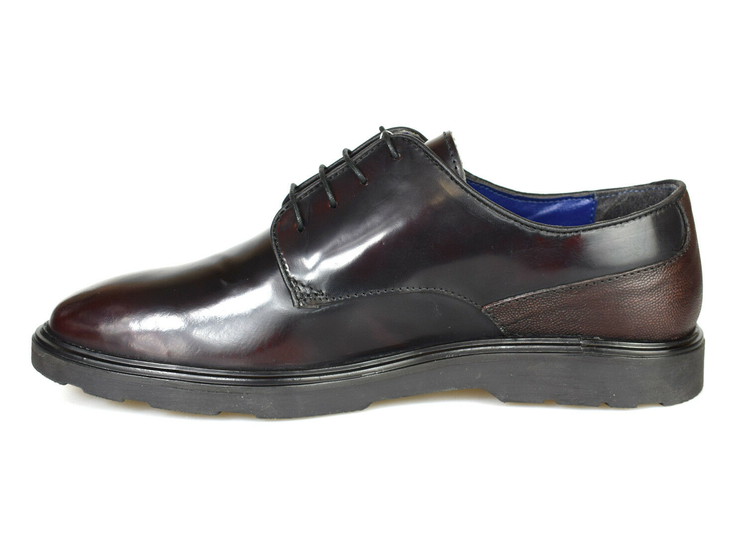 Silber Street London London London Ruskin Oxblood Patent Leather schuhe   Free UK P&P  521cc6