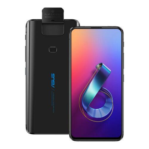 """NUOVO ASUS ZenFone 6 (ZS630KL) 6.4"""" 8GB / 256GB LTE Doppia SIM SBLOCCATO NERO"""