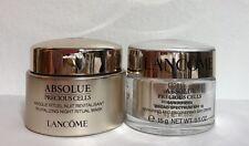 2PCs Lancome Absolue Precious Cells Day Cream & Night Ritual Mask 0.5oz/each NEW