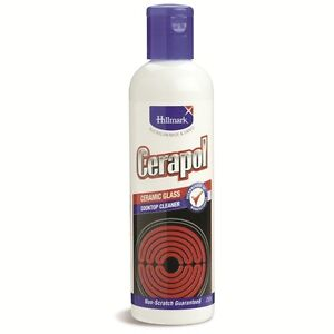 Hillmark Cerapol Cooktop 250ml Cook Stove Top Cleaner