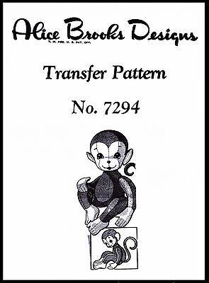 Alice Brooks Vintage Warm Slipper Socks Fabric Material Sewing #7330
