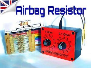 Nouveau Airbag Résistance Outil Résistance Décennie Boîte Kit Siège Léger Défaut émulateur-afficher Le Titre D'origine