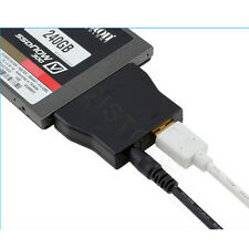 "USB 3.0 to SATA Converter Adapter Cable for 2.5"" 3.5"" HDD SSD + 12V Power Supply"