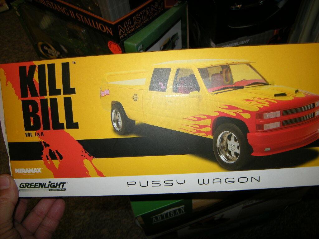 1 18 verdeLight artisan Kill Bill Vol. 1 & 2 Pussy Wagon en OVP