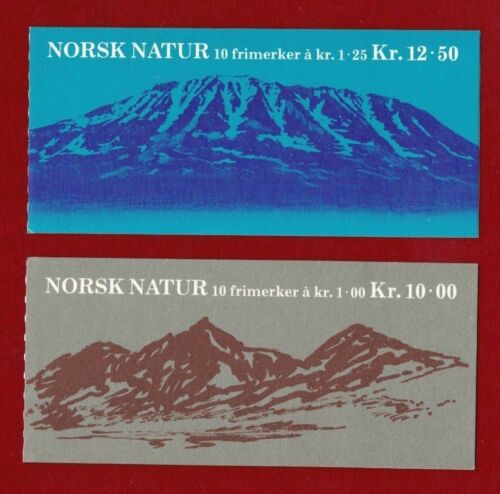 1978 Norway Scenery Booklets Set 2 SG 8156 muh