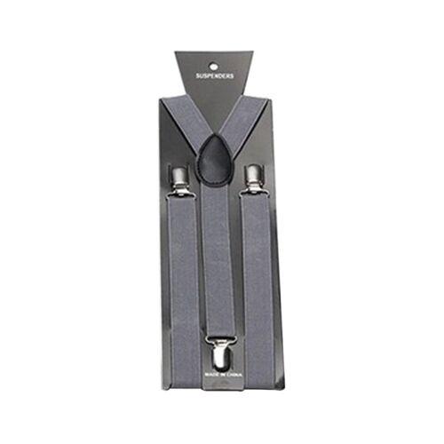 Men Women Suspender 3 Buttons Adjustable Trouser Y Clip-on  Braces Elastic Belt