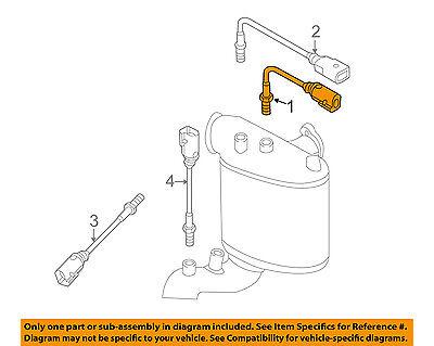 S451 New Oxygen Porsche /& Volkswagen O2 Sensor for Audi