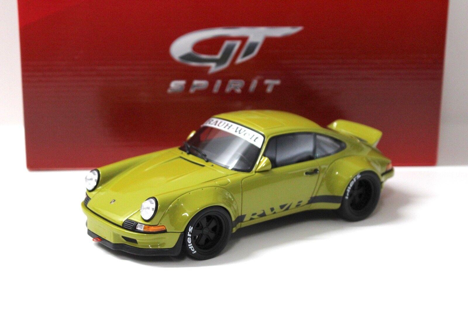 1 18 GT Spirit Porsche 911 (930) GLB 1973 Light vert NEW chez Premium-modelcars