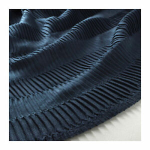 Ikea Vagmalla Throw Blanket Rich Navy