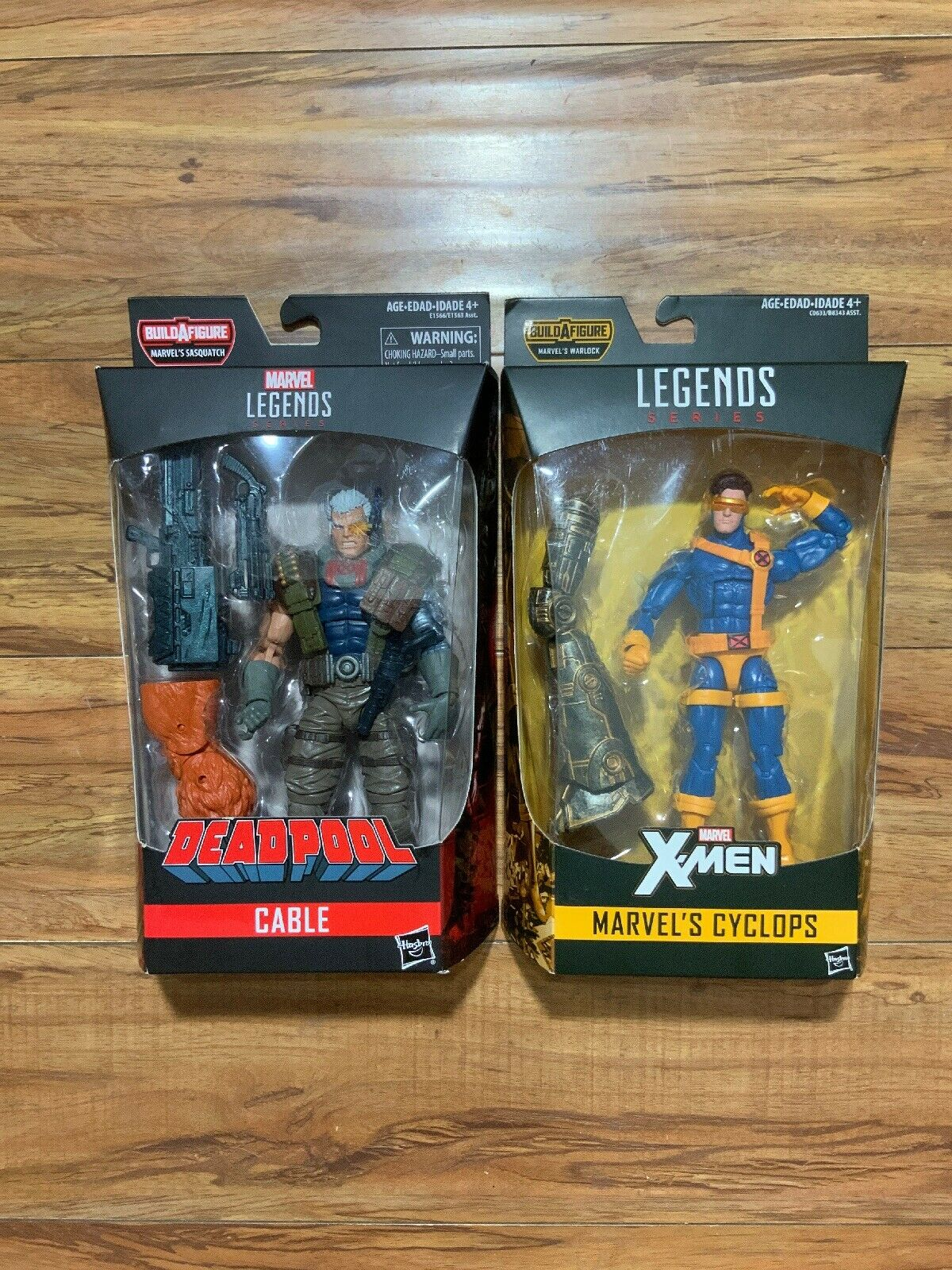 Marvel Legends XMEN WAVE 2 Cyclops cifra BAF & Cavo NUOVO IN SCATOLA LOTTO 2