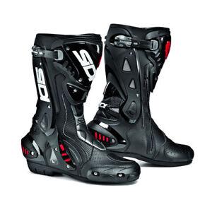 Sidi-ST-Black-Motorcycle-Motorbike-Sports-Race-Bike-Boots