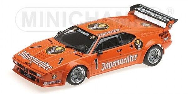 1 18 MINICHAMPS BMW m1 endroit 1982 1982 1982 JAGERMEISTER Kurt roi  1 a9c725