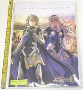 Fire-Emblem-cipher-limited-ART-WORKS-20-book-A4-size-game-anime