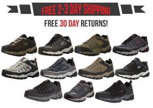 Skechers-Afterburn-Memory-Foam-M-Fit-Men-039-s-Sport-After-Burn-Sneakers-Shoes