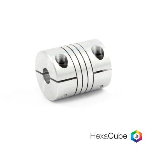 CNC Schrittmotor Nema Kupplung 3D-Drucker 8 mm auf 8 mm Wellenkupplung BR