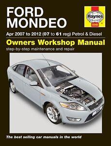Haynes-Ford-Mondeo-Petrol-amp-Diesel-2007-2012-Manual-NEW-5548