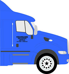 image is loading truck door lettering semi truck decals