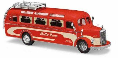 "Oldtimer-Bus  MB O-3500 /""Müller-Reisen/"" Modellauto Busch H0 41008"
