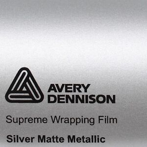 21-70-m-Avery-Supreme-Wrapping-Film-Estera-PLATA-METALICO-MATE-SWF-Coche