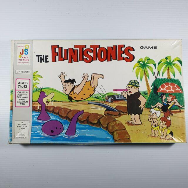 1971 Vintage The Flintstones Board Game In Great Condition Milton Bradley