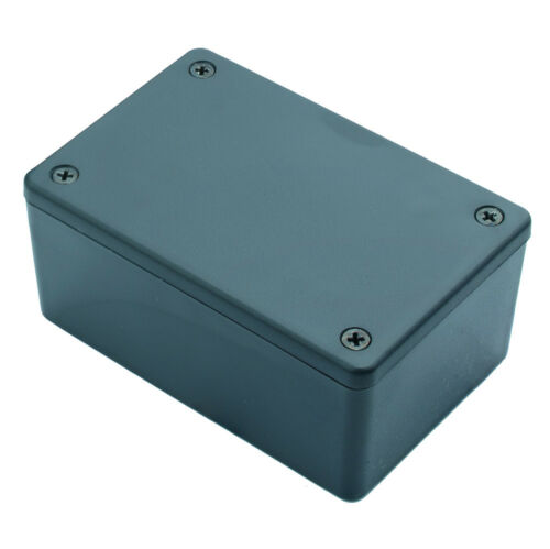 ABS Kunststoffgehäuse Box Platinen Verteilerkasten Elektronik Netzteil Montage