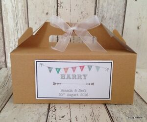 Image Is Loading Personalised Wedding Favour Childrens Activity Brown Kraft Gift