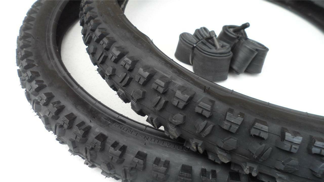 26 x 2.50 Mountain Bike Tires & Tubes Heavy Duty DownHill 26  Bicycle Extreme