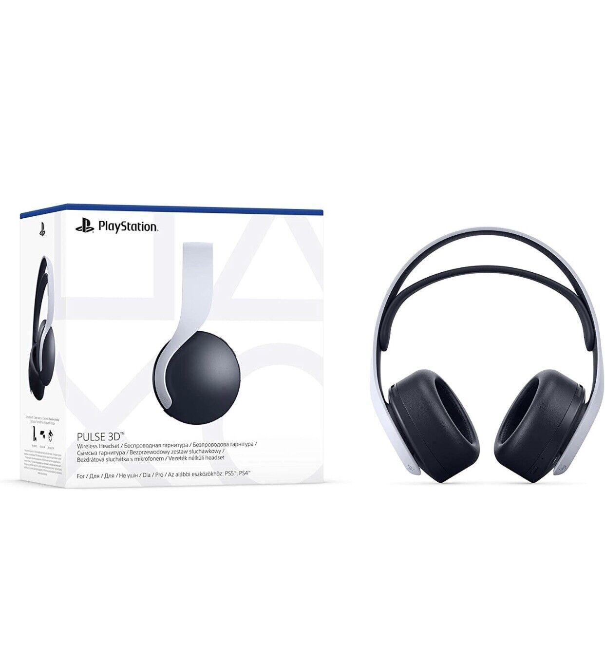 Sony PS5 Headset PLAYSTATION 5 Pulse 3D Wireless Headset Original Sony New