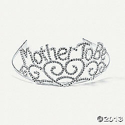 new one MOM TO BE TIARA BABY SHOWER DECORATIONS FAVORS GIRL BOY