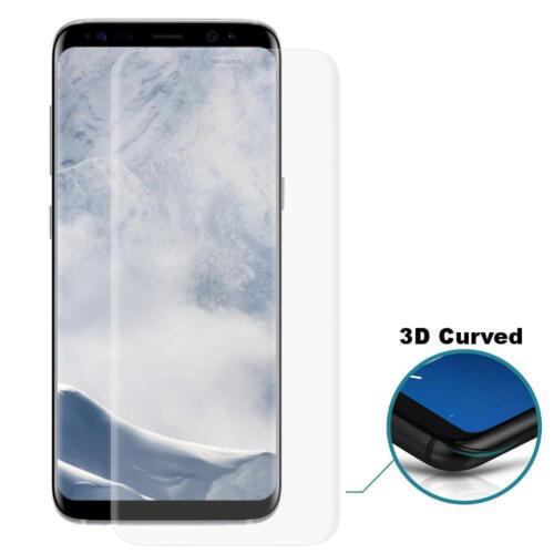 3d redondeado curved Design protección de vidrio 100/% adaptado para Samsung Galaxy s8