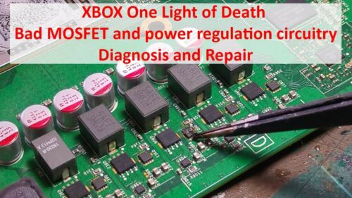 X2 N Channel Mosfet XBOX ONE et Xbox1s.