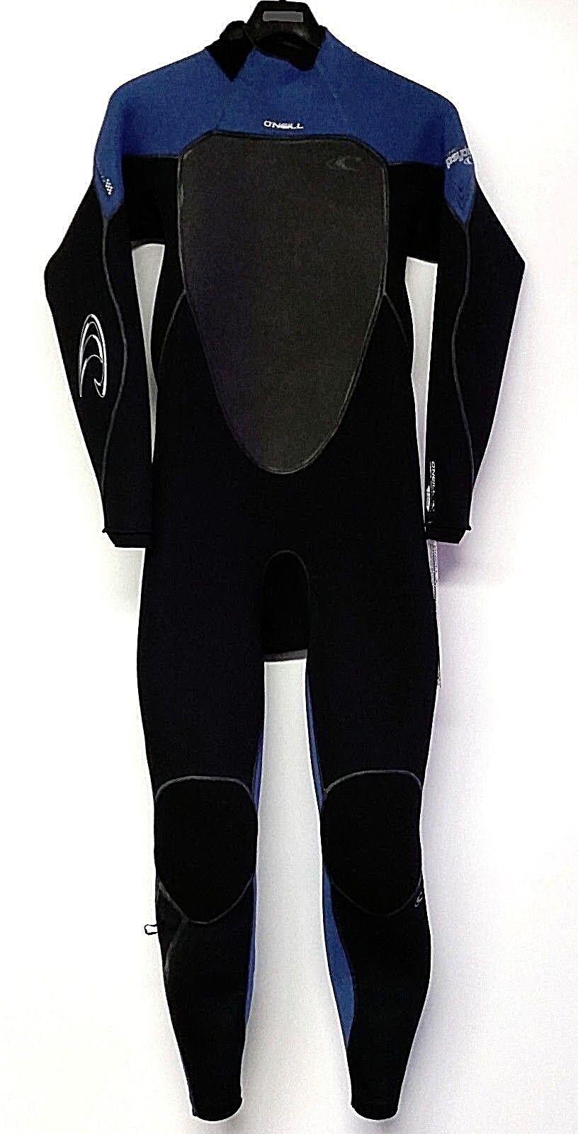 O'NEILL Men's 3 2 PSYCHO 3 Zen Zip Wetsuit  - Blk DeepSea Blk - Size Small - NWT  online